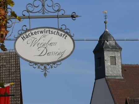 Churfrankenvinothek - Weinbau Dassing